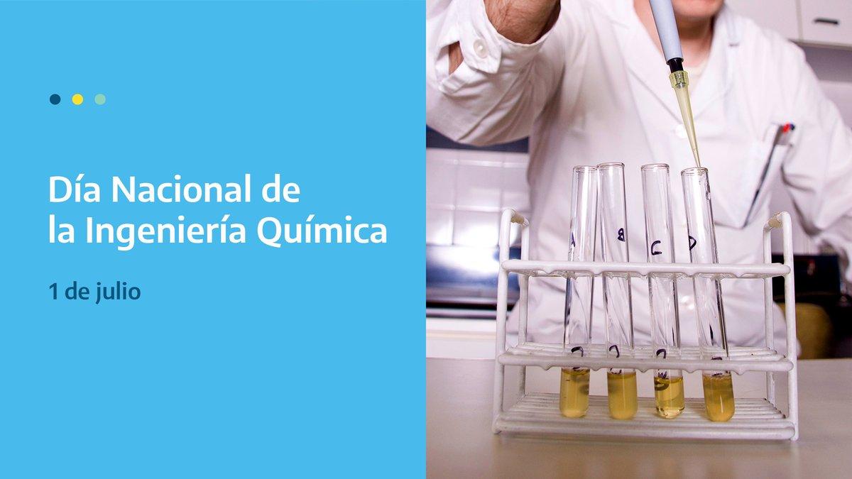 Feliz día a los ingenieros e ingenieras químicas de Argentina y en especial a quienes forman parte de la CNEA  #DíaDeLaIngenieríaQuímica 🇦🇷 #SomosCNEA https://t.co/hw0s3lgcY8