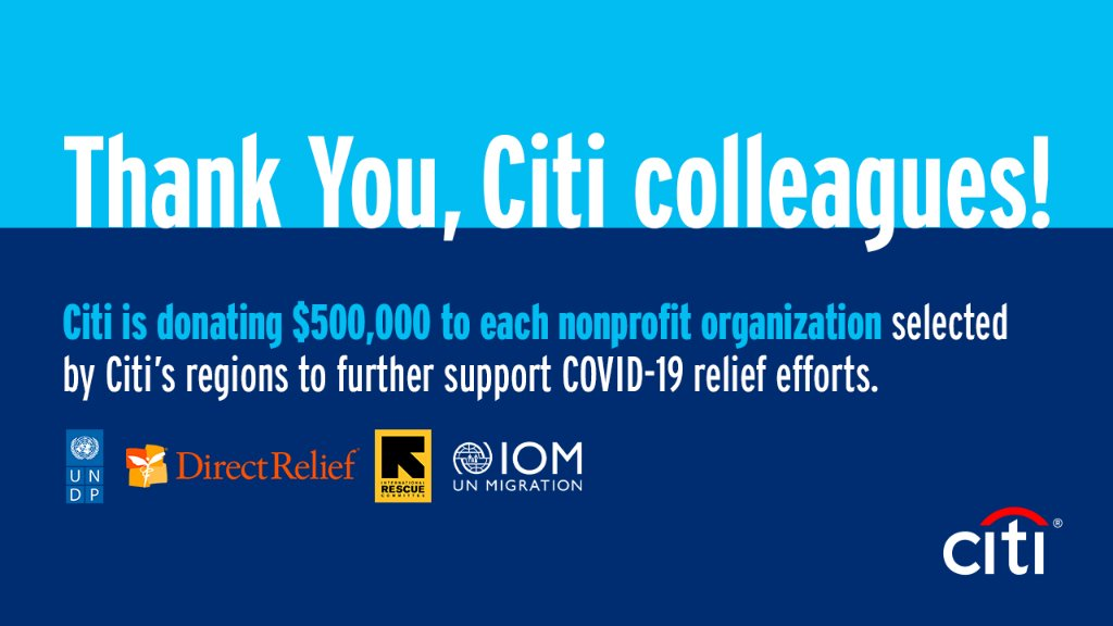 Thanks to the generosity of our colleagues around the world, we have met our $2MM goal in employee donations through our Double the Good campaign, leading to a total of $4MM raised to further #COVID19 relief efforts globally. https://t.co/cYryfeamok https://t.co/RQ5gem2wSB