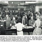 For GSA's 71st anniversary today, check out this photo of a 1962 public bid opening in one of GSA's business service centers.   Now you can find and bid on federal business opportunities online at https://t.co/I8O0RqO8wy!
