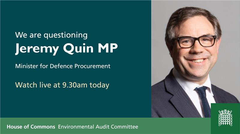 Tune in this morning for this UK parliament Environmental Audit Committee meeting on the UK #military environmental bootprint.