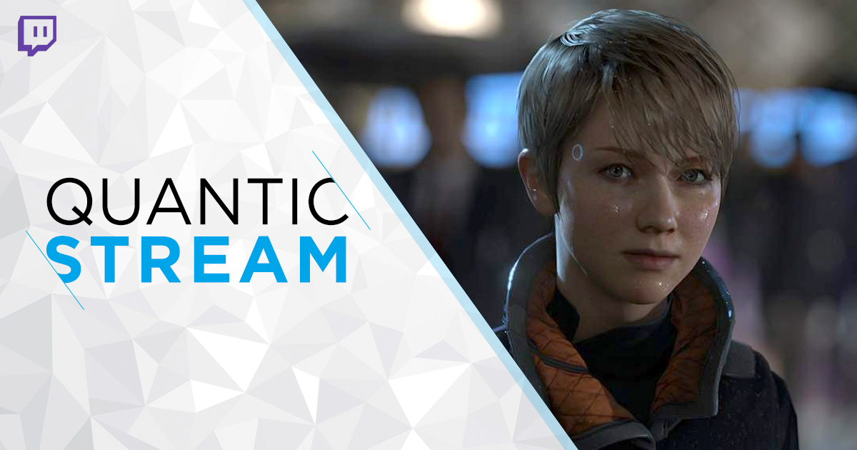 Today's new #QuanticStream show is about Kara!   Learn more about this #DetroitBecomeHuman iconic hero! https://t.co/6zGu8pyyAc