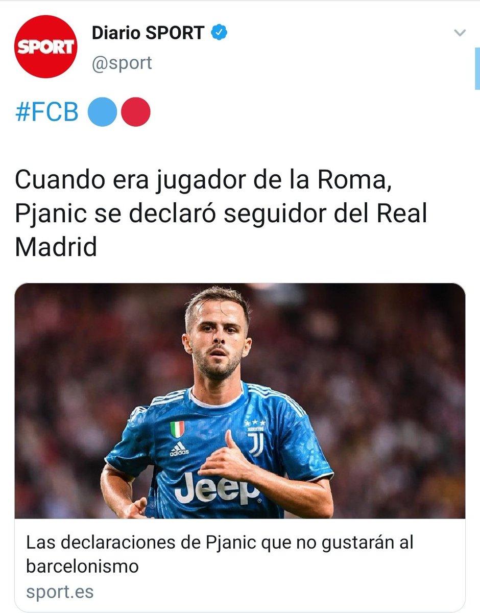 El Barça ha cambiado a un jugador como Arthur de 23 años y que cobraba 3M€, por Pjanic que tiene 30 años, que cobrará 7,5M€ y encima es del Madrid. Bartomeu se supera día a día. JAJAJAJAJAJA