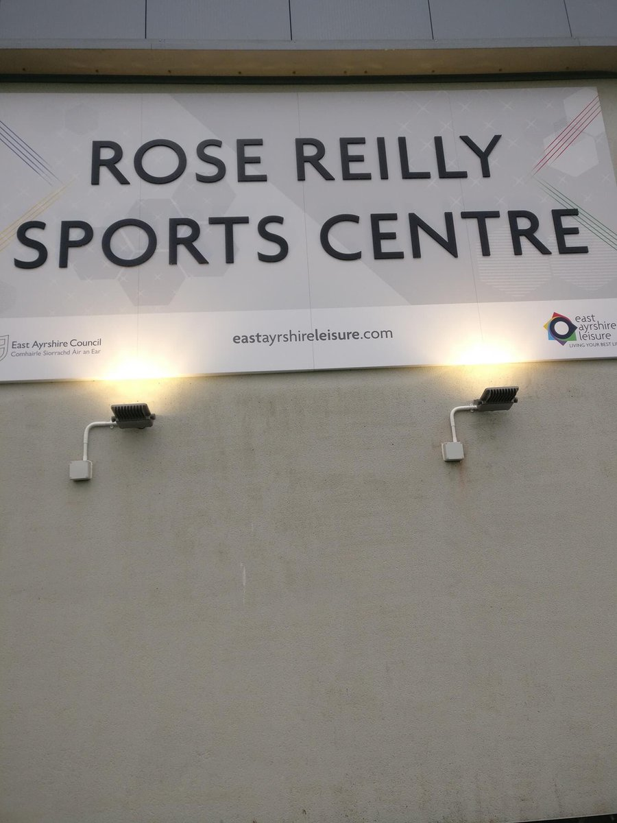 Where she deserves to be. In lights. ⭐️⭐️⭐️ #RoseReilly @stewartoncc ⚽️ 🏆