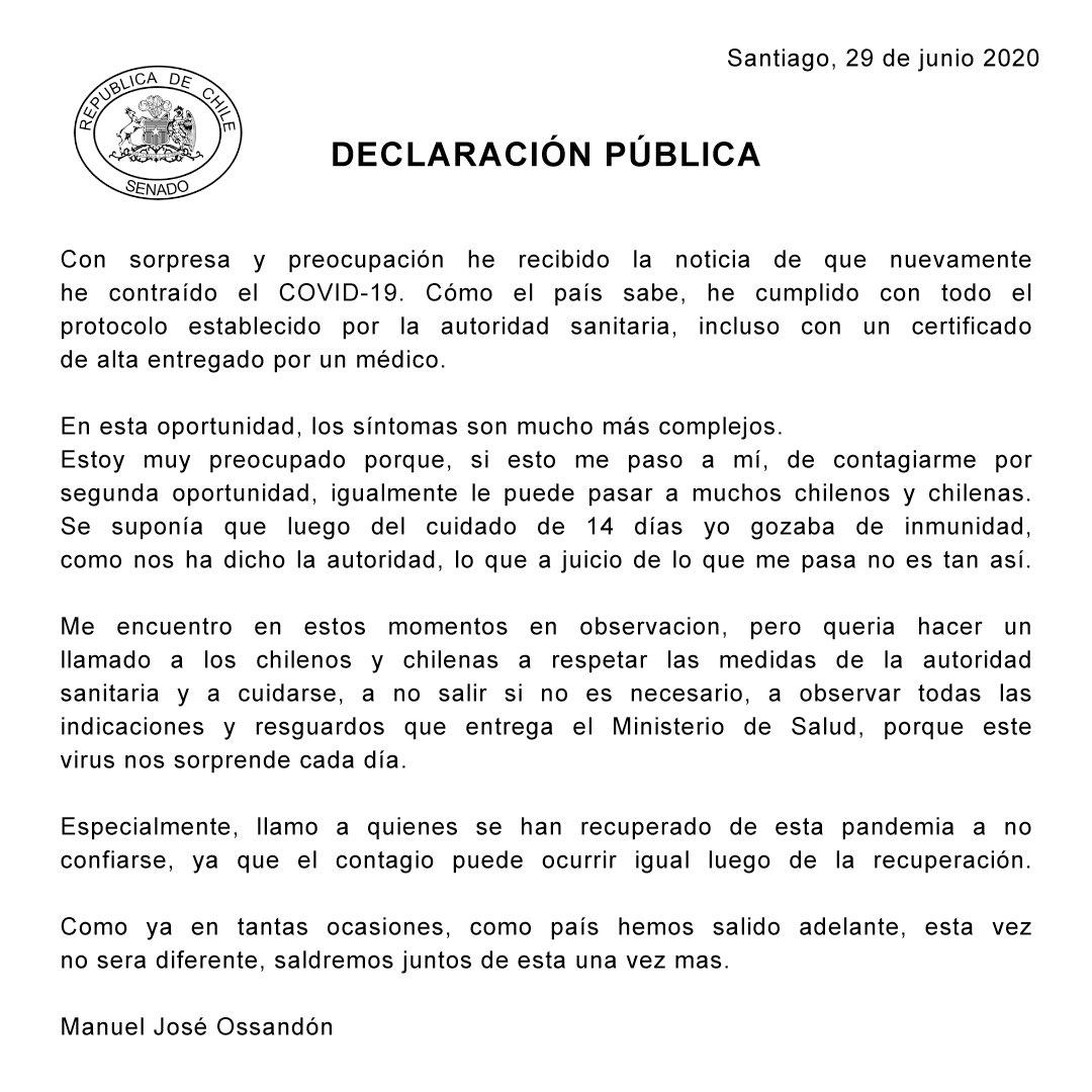 Declaración Pública https://t.co/EMuwhbyVuv