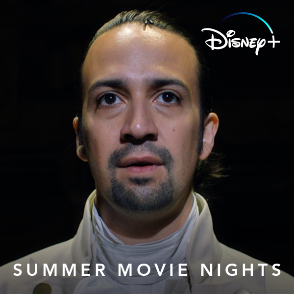 Summer movie nights just leveled up. ☀️🙌 Starting Friday on #DisneyPlus, we're bringing you new releases every week, from superhero epics like X-Men and Incredibles 2 to epic musicals like Hamilton and The Greatest Showman. #DisneyPlusMovieNights