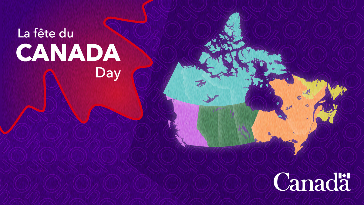 #DYK Canadian Heritage is funding multiple regional virtual activities across the country to celebrate #CanadaDay? These activities will take place all day on July 1! 🇨🇦   See the complete list: https://t.co/aFZafAGLNh https://t.co/W9vxrcLTzn