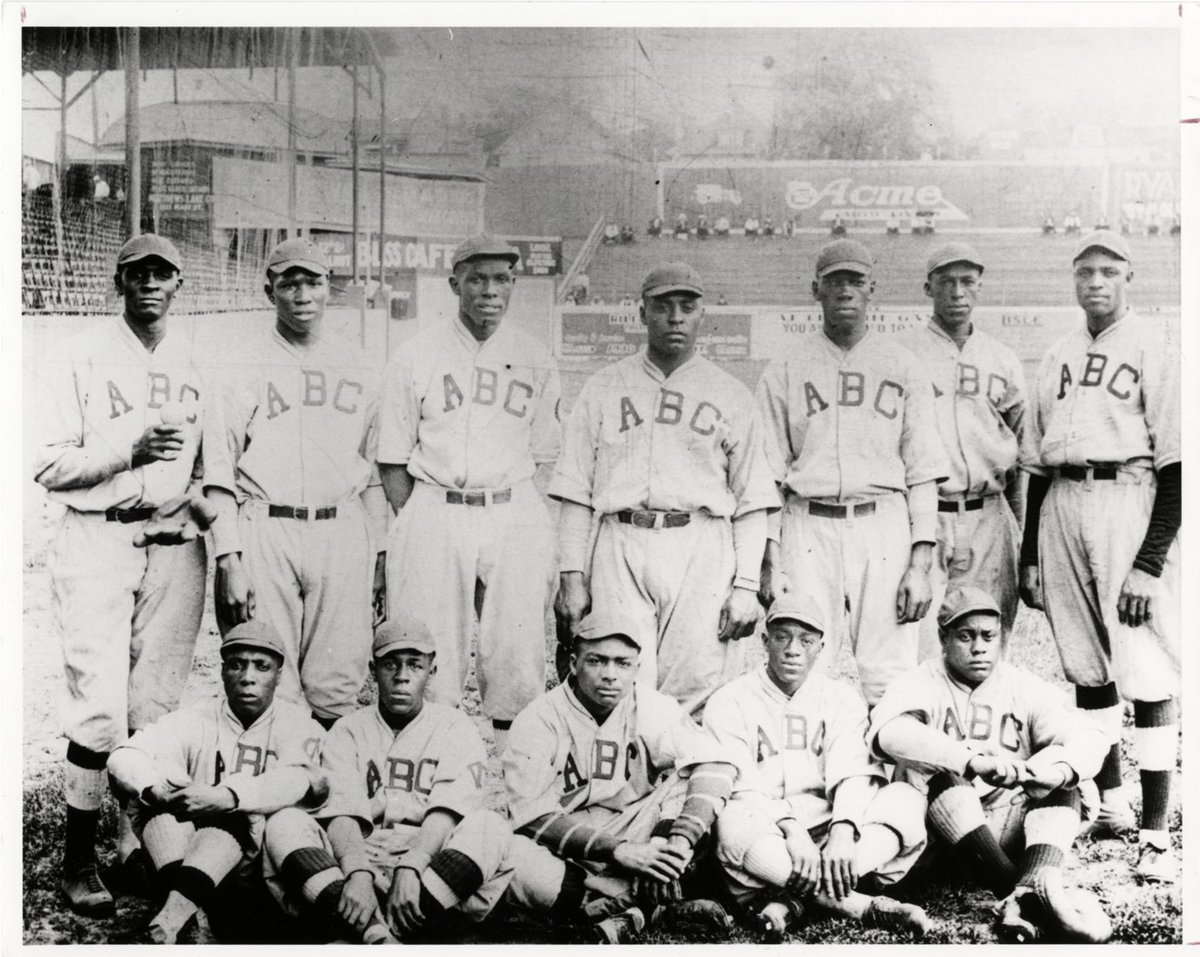 The 100th Anniversary of the Negro Leagues! Salute the Indianapolis ABCs! They played at Washington Park and there's a historical marker at 1200 W. Washington St. in Indianapolis.  #TipYourCap2020 https://t.co/DitWLbuU25