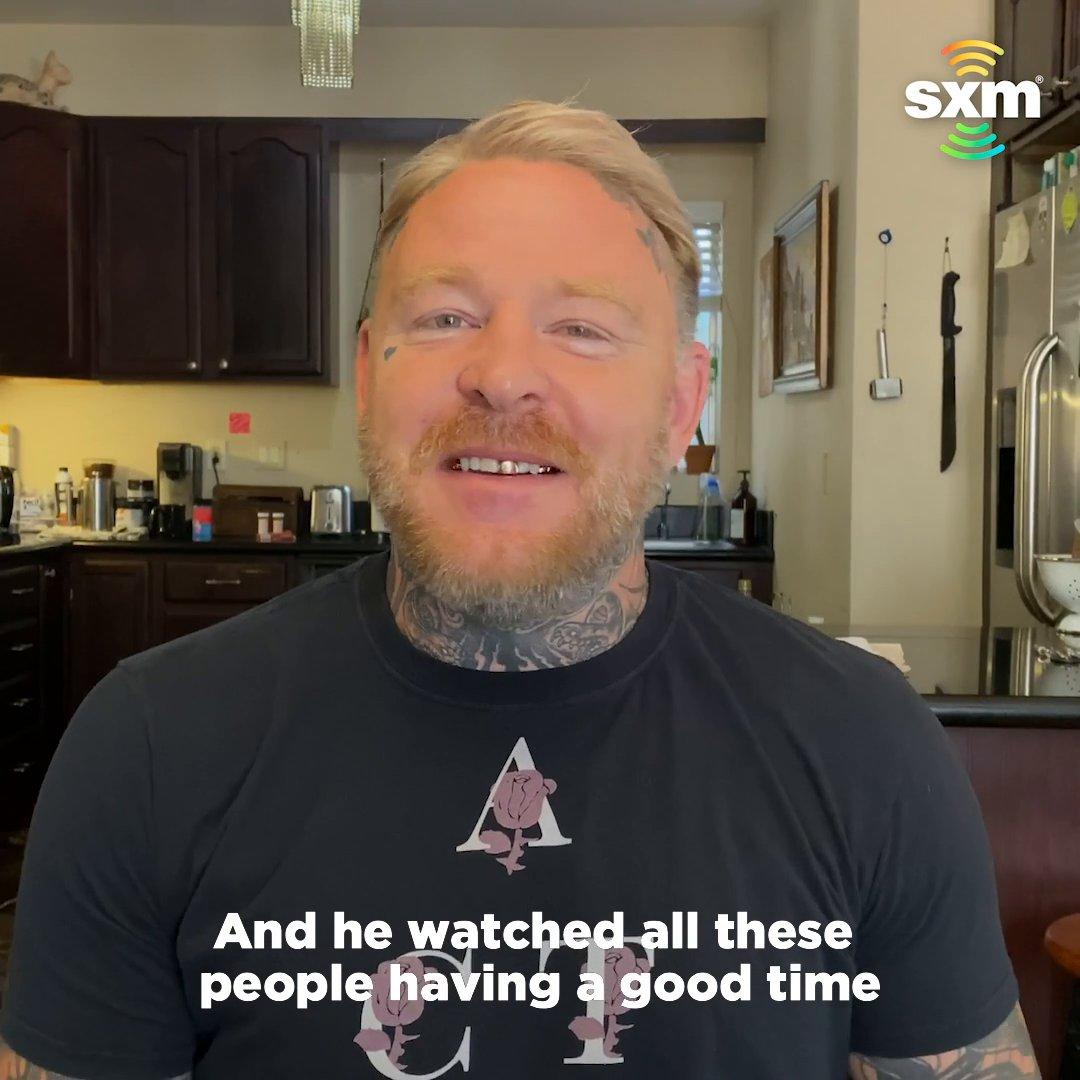 SiriusXM host @EllisMate describes his favorite Pride memory. 🏳️🌈