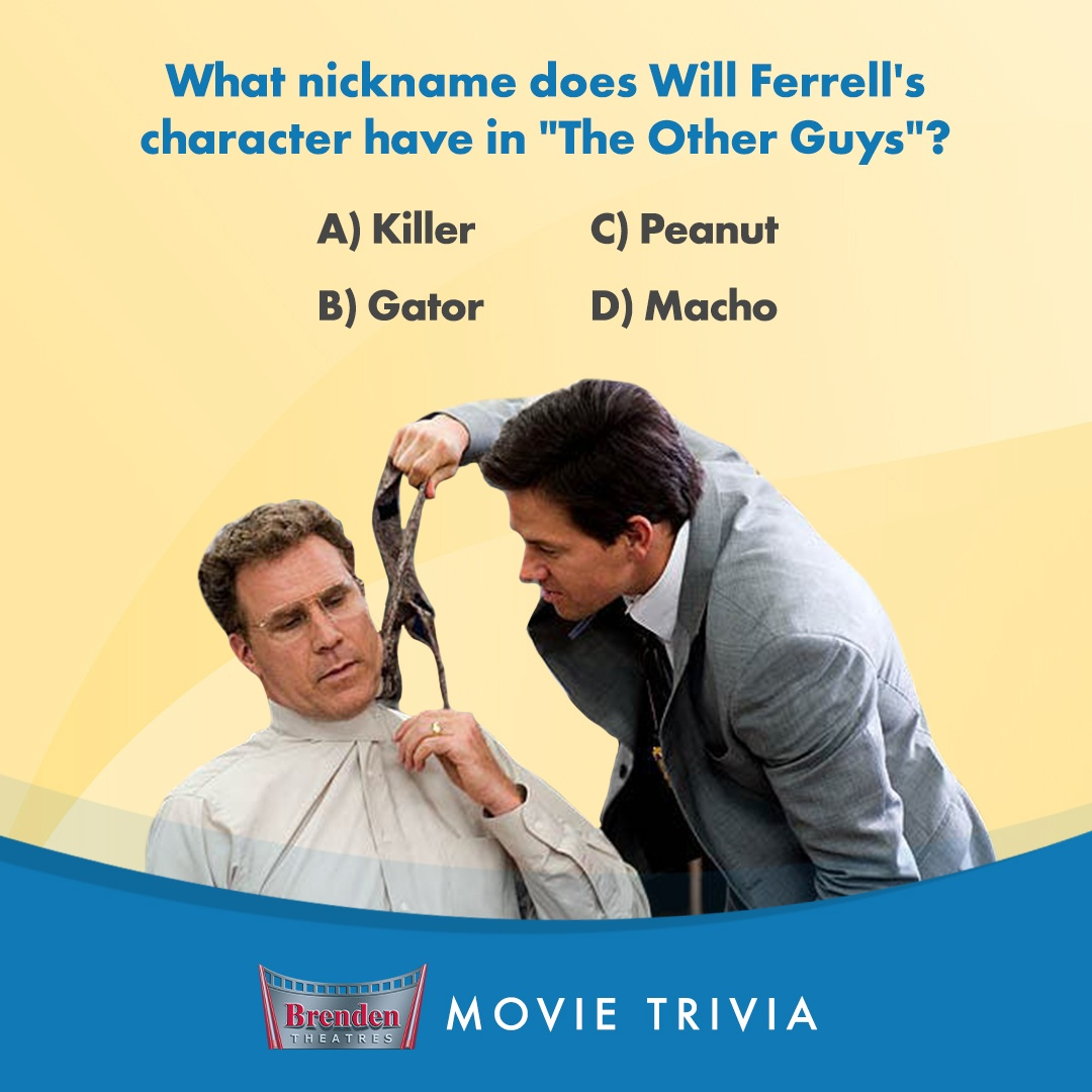Who could forget this unlikely iconic duo? But do you remember Will Ferrell's character's nickname? Let us know in the comments! #Trivia #MovieTrivia https://t.co/bOVo9nvnRR