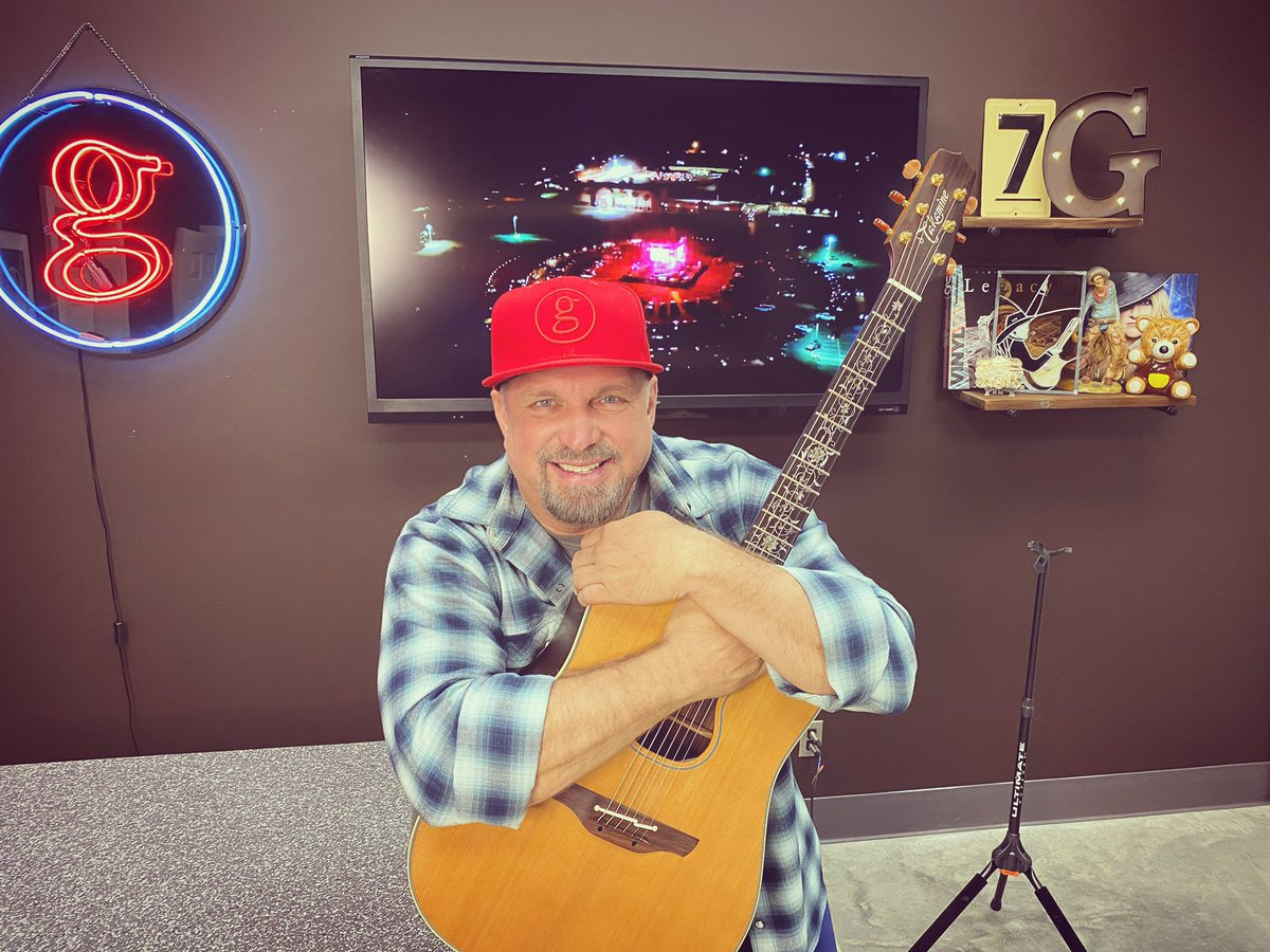 It's OFFICIAL #GarthRequestLive2 acoustic show on 7/7!!! But first, THIS is why I love YOU!!! love, g Watch #StudioG: bit.ly/3eJTyIN