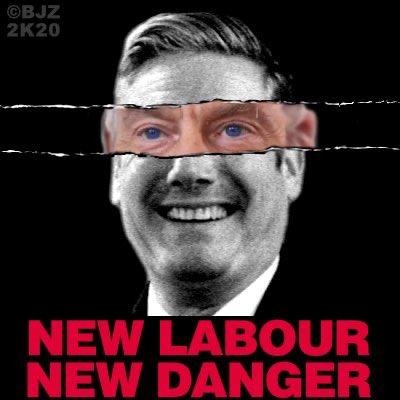 "Hamja Ahsan on Twitter: ""Sir Keir Starmer. New Labour, New Danger ..."