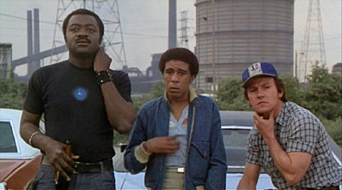 Looking for a gritty '70s film with a weirdly sophisticated grasp of the economic roots of racism, and the connection between racism and labor, and Richard Pryor but not funny Richard Pryor? Two thumbs up for Blue Collar. RIP anti-Hollywood Hollywood. https://t.co/Mg3sD7TdnF