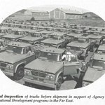 GSA has helped our federal agency clients deliver on their missions for 71 years! In this 1965 photo, GSA conducts a final inspection of trucks it acquired for @USAID.  Learn about GSA's Federal Acquisition Service at https://t.co/DCXzMN0o2n. @FAS_Outreach