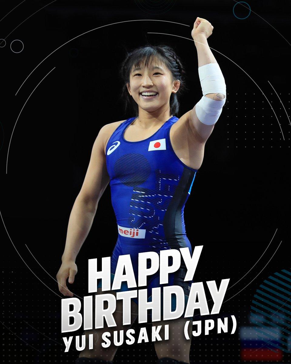 Please join us in wishing two-time world champion Yui SUSAKI (JPN) a Happy Birthday! https://t.co/SrN3ivoBp9