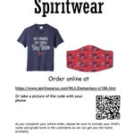 Image for the Tweet beginning: Check out our new spirit