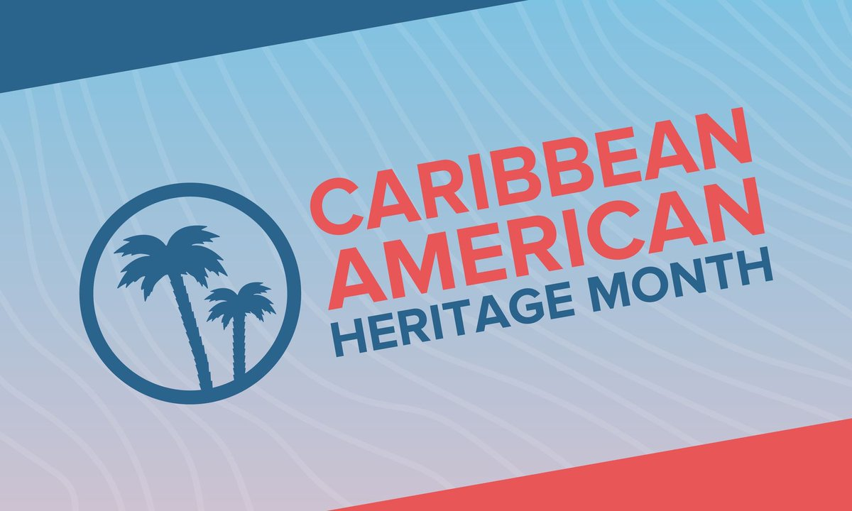 Happy Caribbean American Heritage Month! https://t.co/ytaoo24vwS