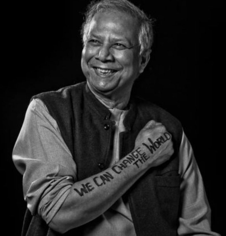 Wishing Muhammad Yunus a Happy 80th Birthday! Professor Yunus won the Nobel Peace Prize for being the pioneer of microcredit and microfinance, is a social entrepreneur, and a society leader @Yunus_Centre #GlobalGoals #SDGAdvocates #SDGs #UnitedNations