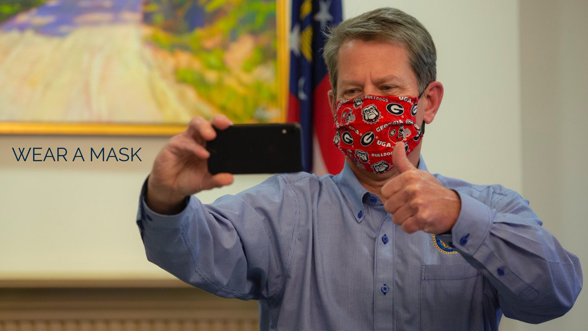 Wear your mask, Georgia - and Go Dawgs!