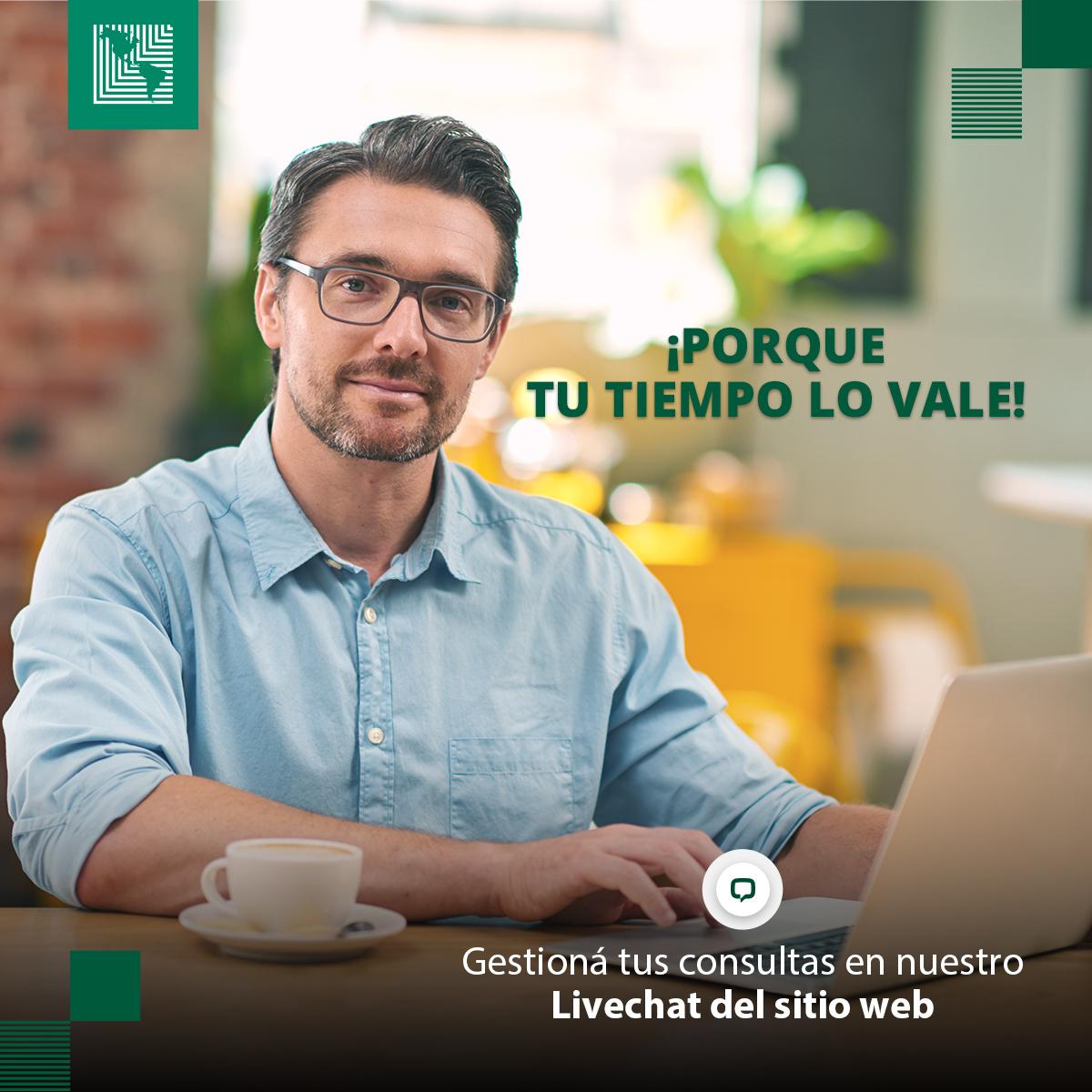 ¿Tenés consultas sobre nuestros productos y servicios? Escribinos a nuestro #Livechat en el sitio web ¡Atención personalizada!👩💻  Consultá👇 ✅Sobre #BancanetLAFISE ✅Saldo de tarjeta de crédito ✅Información de productos y requisitos ¡Y más!  Click aquí: https://t.co/F5PyXct8Xv https://t.co/UKV1C104Qq