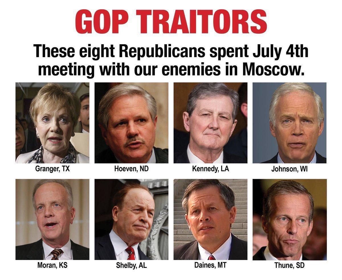 @MeidasTouch @CaroleMoss5 @GOP #TrumpGenocide #PutinsGOP #TrumpPutinsPuppet