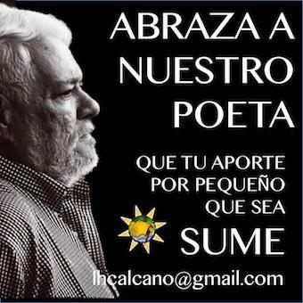 El poeta Armando Rojas Guardia pasa por una delicada situación de salud. Necesita de tu apoyo para superarla. #PorAmorAArmando .Si puede ayudar aquí los datos de la cuenta: Luisa Helena Calcaño CI 2938368. Banco Mercantil. Cuenta: 01050725178725001272 lhcalcano@gmail.com. https://t.co/OQ6CzAObJs