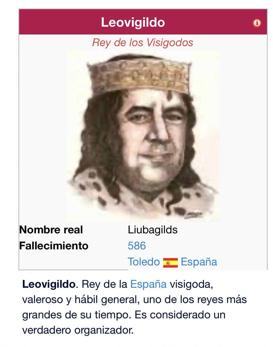 por qué cojones tengo toda la cara de este señor. Rey Leovigildo. nooooooo tatatatatatatatatatatarabuela que hiciste 😔👌 https://t.co/U9uMtpUI74