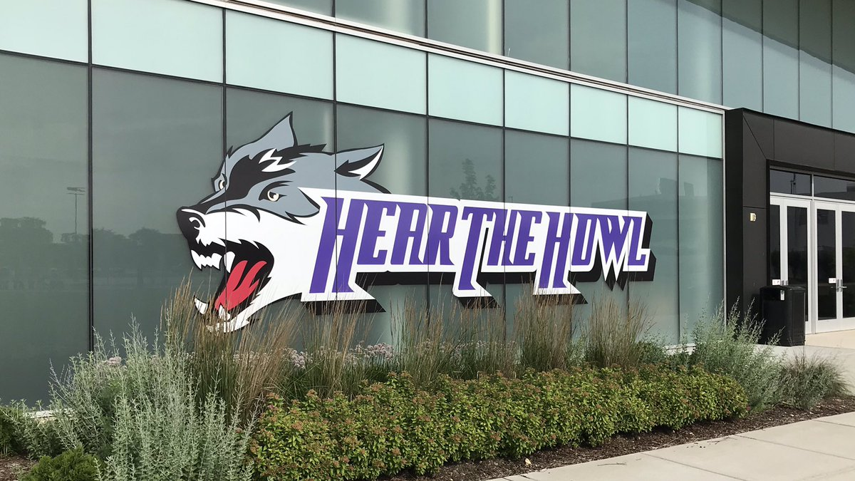Check out the new signage on the JJC Event Center! We hope everyone will #hearthehowl when they visit our campus! Stay tuned for details in the next few weeks...