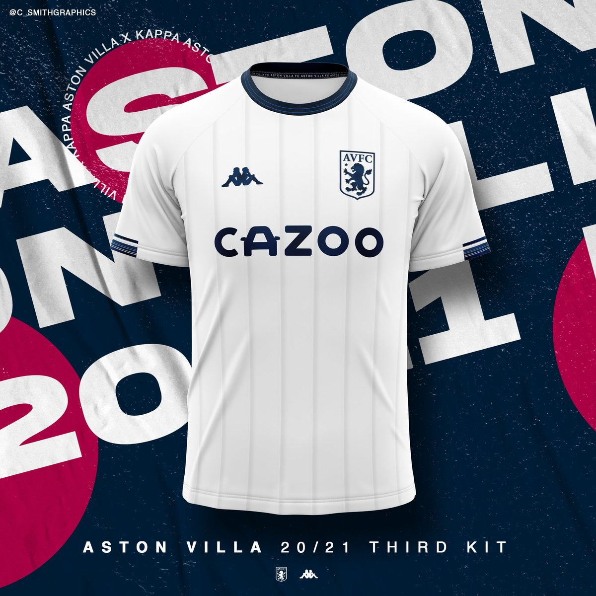 Charlie Smith On Twitter Aston Villa 20 21 Concept Kit Design Let Me Know What You Think Astonvilla Aston Villa Astonvillakit Football Footballkit Conceptkit Graphicdesign Graphic Design Kappa Astonvillakit Astonvillaconceptkit