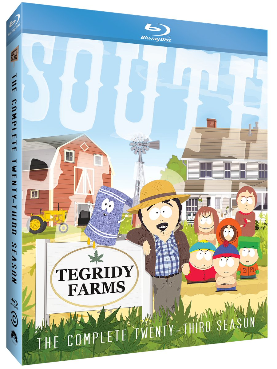 23 years on and still going strong, #SouthPark remains as relevant and as irreverent as ever. Follow us + RT to enter to #win the Complete 23rd Season of @ComedyCentral's longest-running show, available now on Blu-ray! https://t.co/6PyEaCRTrR