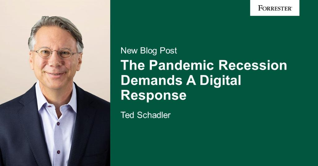 #Digital has been key in the wake of the #coronavirus. VP @TedSchadler says its also the path forward for companies: forr.com/31t4wP2 #DigitalTransformation
