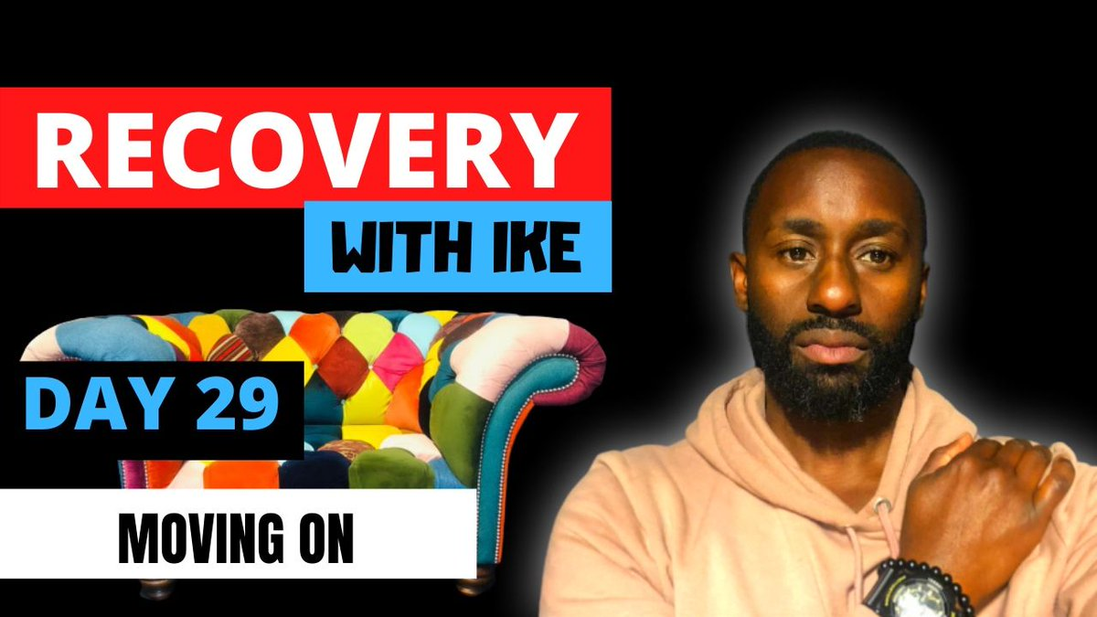 Day 29 - Moving On • #RecoveryWithIke.  #ChildOfGod #ChildOfGodTeam #ChildOfGodMovement #Recovery #Drugs #Alcohol #Gambling #SteppedUp #ThankYou #Blessed #Grateful #GodBless #GodsWill #Addiction #MyStory #MyJourney #Support #ReachOut #GetInTouch  https://t.co/CiNgCKPPuY https://t.co/fd7WDLRmfs