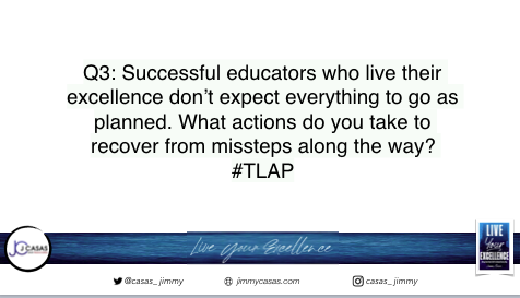 Q3: Let's keep it going! #TLAP #LiveYourExcellence