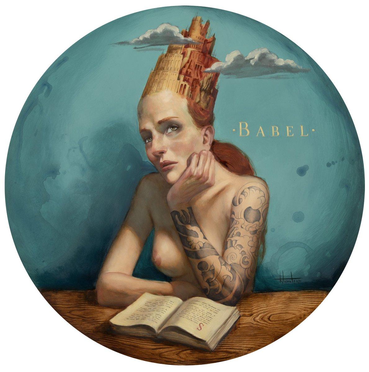 Babel  #babel #tattoo #fernandovicente #torredebabel #oilpainting #oilcanvaspainting https://t.co/oqcuoBQqOK