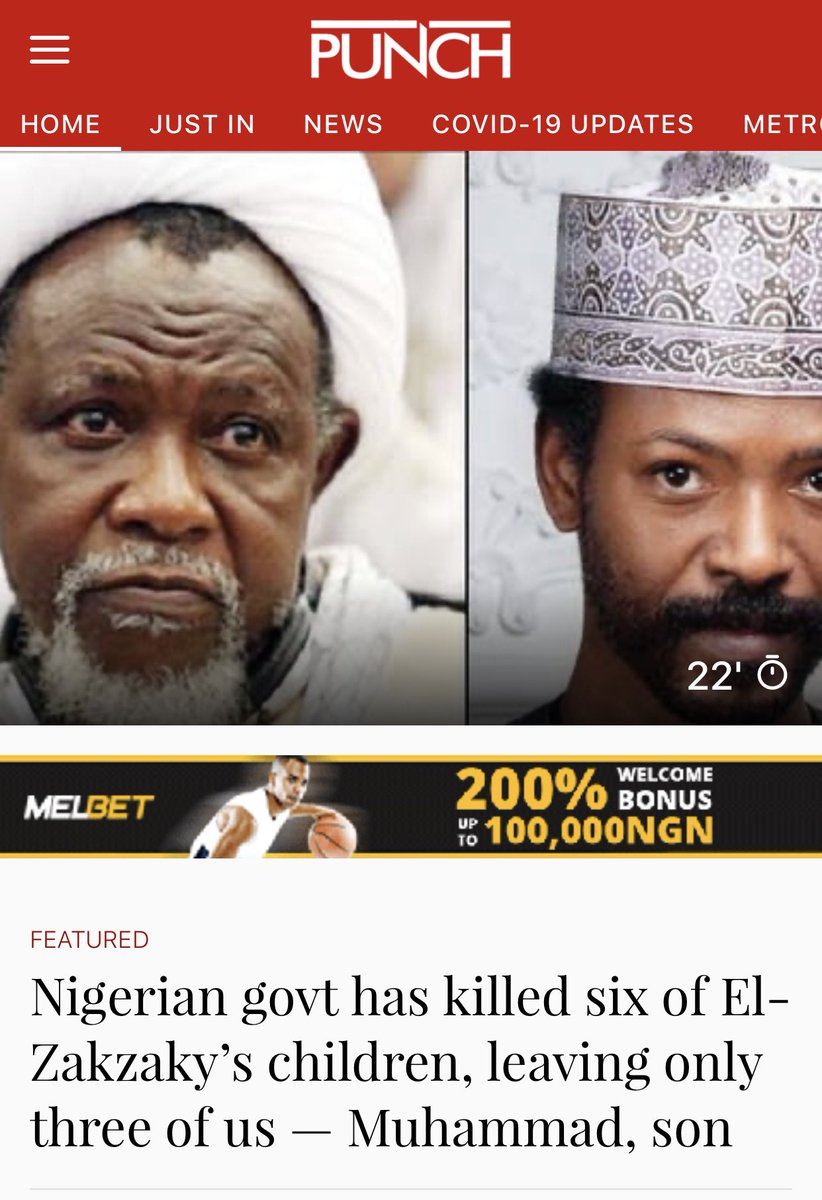 ⁦@GEJonathan⁩ Regime in 2014 killed 3 of  El ZakyZaky kids in cold blood, during the regime of tyrant ⁦@MBuhari⁩ 3 more of his kids were slaughtered alongside 900 Shiites! There is just no difference between @officialPDP & @OfficialAPCNg⁩. #RevolutionNow https://t.co/aICOVU6jXF