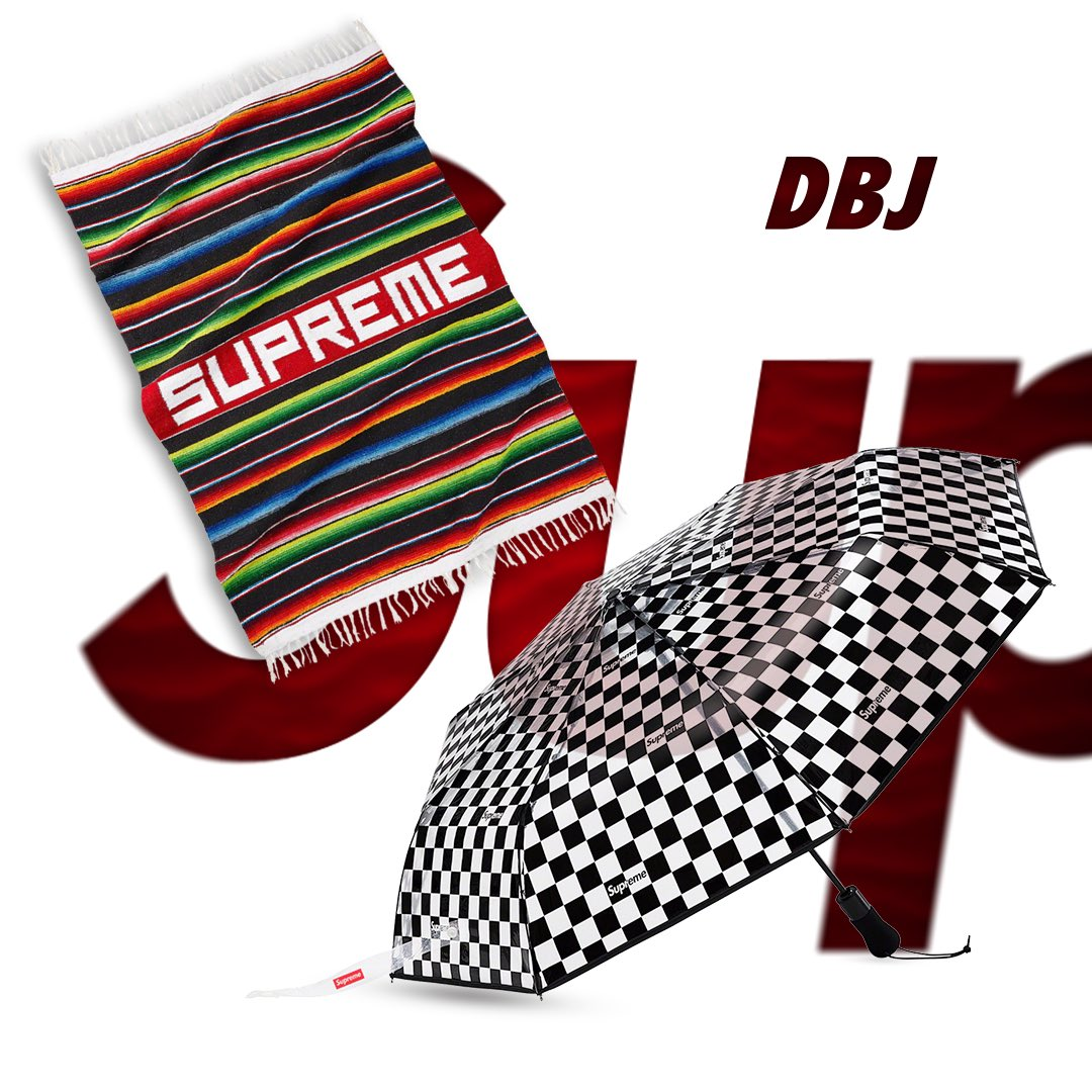 Releasing this Thursday, July 2nd In Store and Online.   -Serape Blanket  -ShedRain Transparent Checkerboard Umbrella