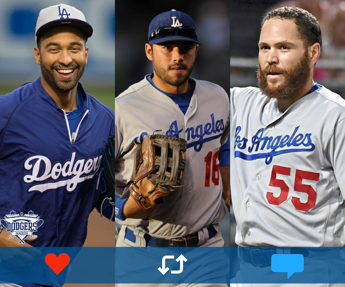 The #Dodgers have 9 roster spots left... who all you bringing back? <br>http://pic.twitter.com/HGh4RQ8iZy