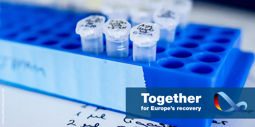 Learning from the crisis: pharmaceuticals should increasingly be produced in Europe again. The Corona crisis has demonstrated how important this is. New supply chains should be established to reduce external dependency. #EuropeUnited https://t.co/s6uRodByz2
