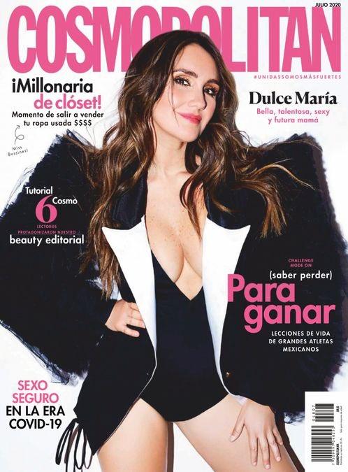 Mamãe rebelde, fashionista e belíssima! Capa da revista Cosmopolitan mexicana do mês de julho, Dulce María revelou como a gravidez de seu primeiro filho tem sido importante para enfrentar esse período dif... (📷: @sergio.valenzuelach para a @cosmopolitanmx)https://t.co/6Kg9TSFJfG https://t.co/5rErSdbnRz