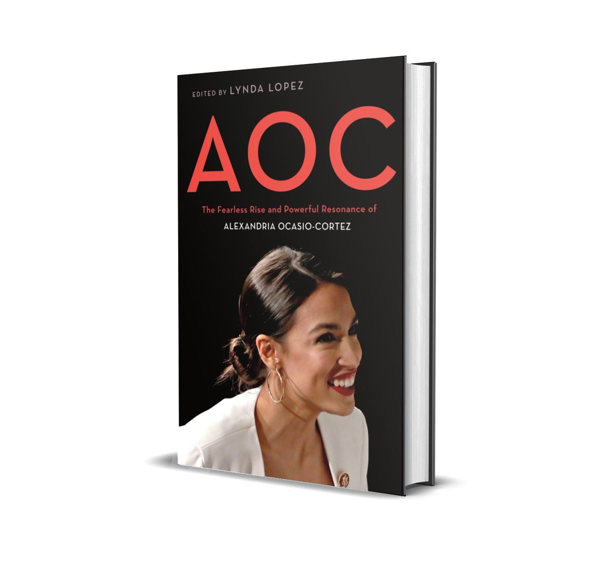 I am so excited to announce my book, AOC: The Fearless Rise and Powerful Resonance of Alexandria Ocasio-Cortez ...an anthology exploring the impact of AOC. Thank you to the fellow authors that also wrote chapters for this book! Out 8/11. https://t.co/2K1F72iw8w https://t.co/Ey1djfHiF6