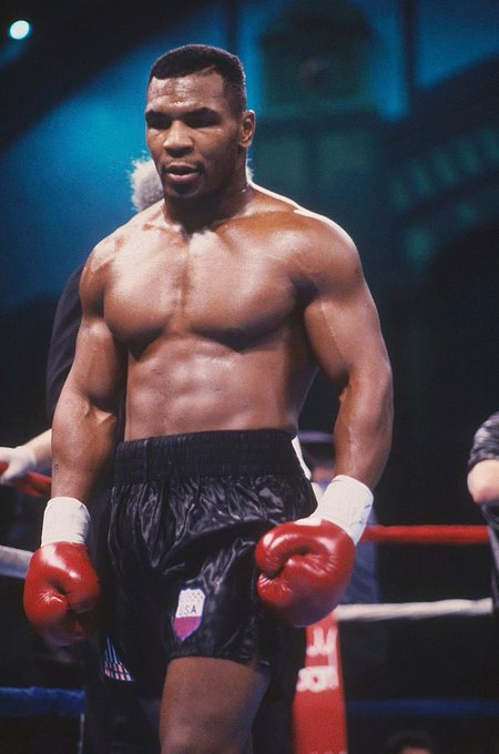 Happy birthday to heavyweight boxing legend Mike Tyson! The baddest man on the planet!