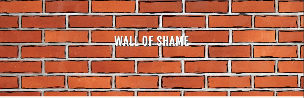 @emfoxhall's photo on Wall of Shame