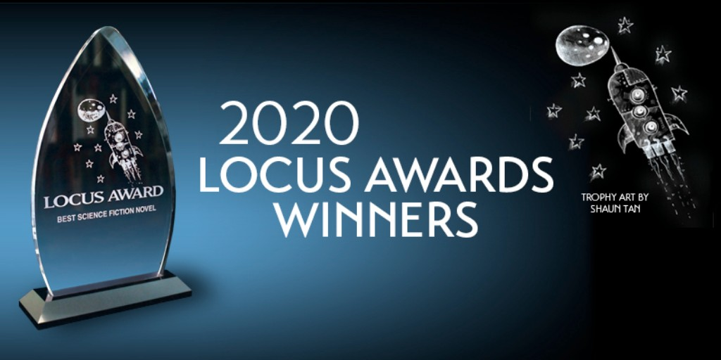 This weekend the 2020 @locusmag Awards for best science fiction and fantasy were announced! Check out the full list winners and nominees for some reads that are sure to fit this year's Live the Fantastic #kcSummerReads theme:  http:// ow.ly/UKYs50AlcQ6    <br>http://pic.twitter.com/ncBSnFMf7h