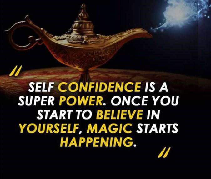 Self confidence is a super power.#selfconfidenceisasuperpower #selfconfidenceboost #superpower #unleashyoursuperpower #believeinyourself #magicstartshappening #selfconfidencequotes #emotionalbadass #beanemotionalbadass #moxiemeetsmindful #nikkieisenhauer #lifecoachpic.twitter.com/Um3KKwEFcz