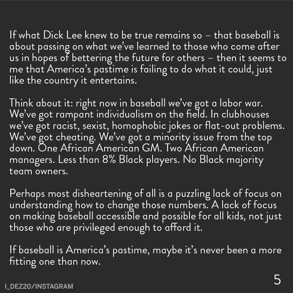 Colorado Rockies OF Ian Desmond shared a powerful message with the reasons behind him opting out of playing baseball this season. https://t.co/5IHfepNar6 https://t.co/wE2lBVe40g