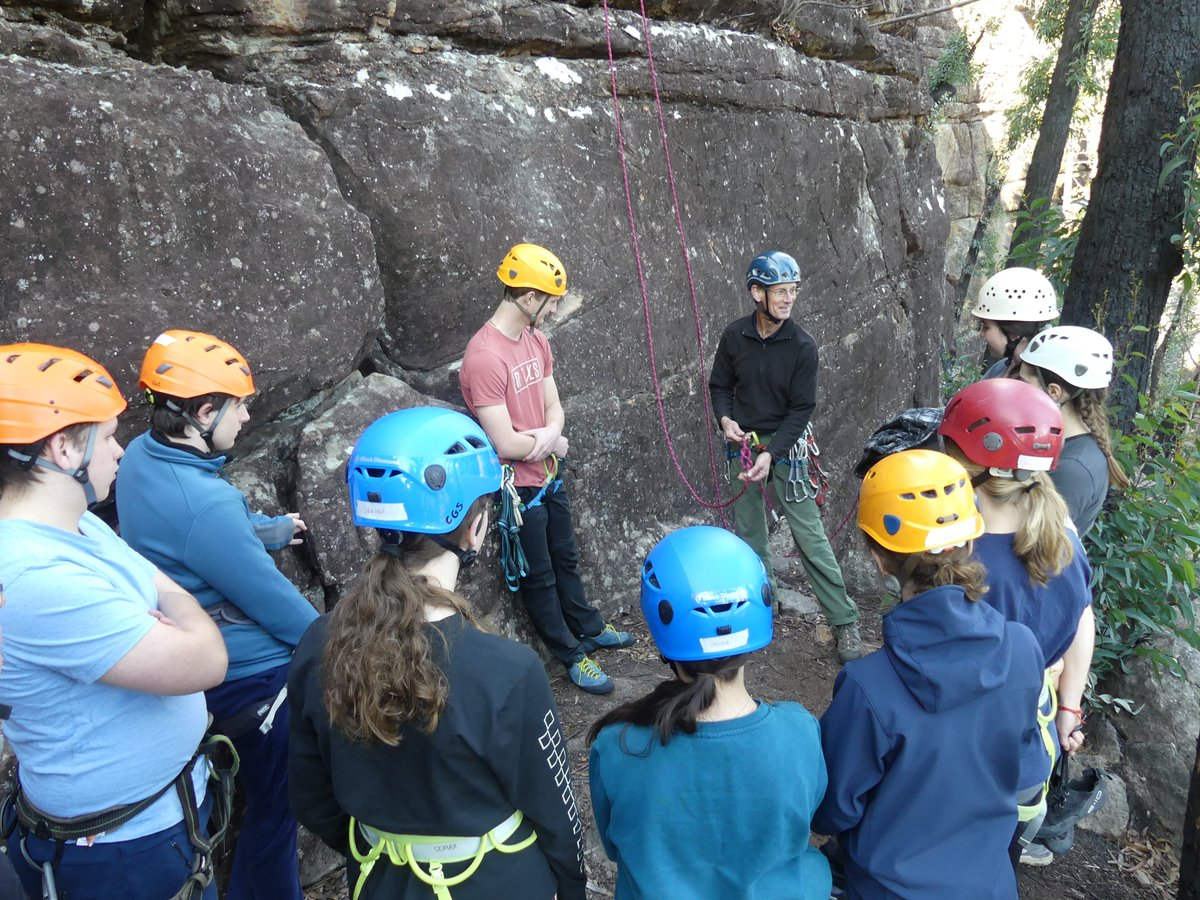 Recently, 11 students and four staff spent the day climbing outdoor at Tianjara Falls in Morton National Park. Perfect weather: check. Exciting climbs: check. It was the first time back for the Outdoor Pursuits group & they're all looking forward to more regular climbing soon.