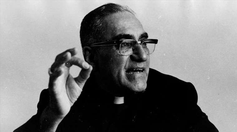 """too many of us see the gospel as a story from the past and fail to see what it's meant to mean for us here and now Oscar Romero helped me with this: """"Christ is now in history. Christ is in the womb of the people. Christ is now bringing about the new heavens and the new earth."""""""