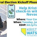 Image for the Tweet beginning: Democrat @KristeeWatson for State Senate