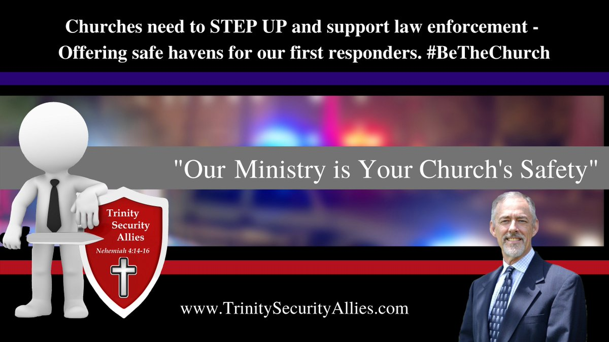 In case you missed last night's FB Live: It's time for the #church to speak up and support LEO! https://t.co/hsJi1LpRb3  #backtheblue #alllivesmatter #Pastors #bethechurch #prayforlawenforcement #thisisyourtime #cancelculture #churchsafety #churchsecurity #churchsafetytraining https://t.co/BJaH3sEsQf