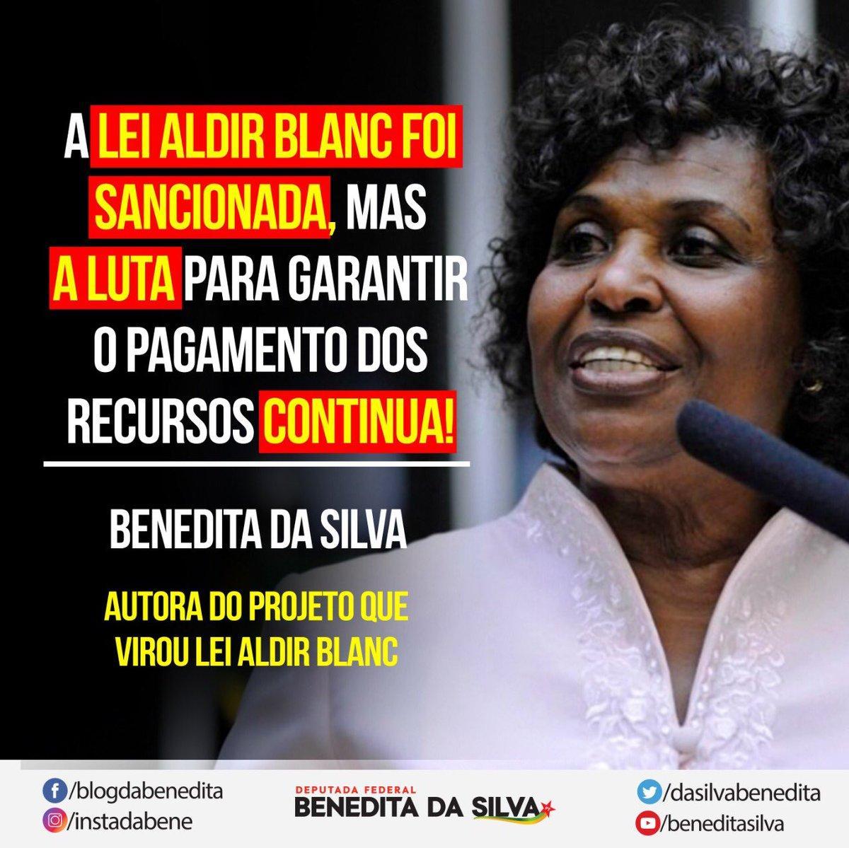 BOA NOTÍCIA! 🔴 A LEI ALDIR BLANC foi SANCIONADA! #leialdirblanc #leialdirblancsancionada