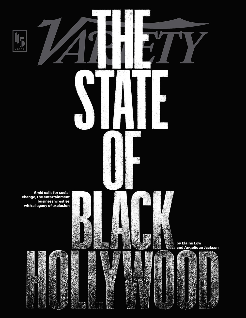 Variety Magazine on The State of Black Hollywood